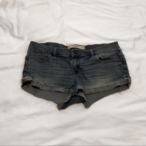 Abercrombie and Fitch Low-Rise Jean Shorts